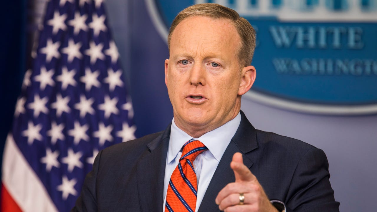 Some of Sean Spicer's best moments on the job