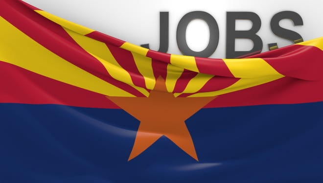 Arizona jobs and employment opportunities concept
