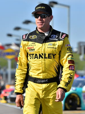 Carl Edwards lives in Columbia, Mo., with his wife, Kate. and their children, Anne and Michael.