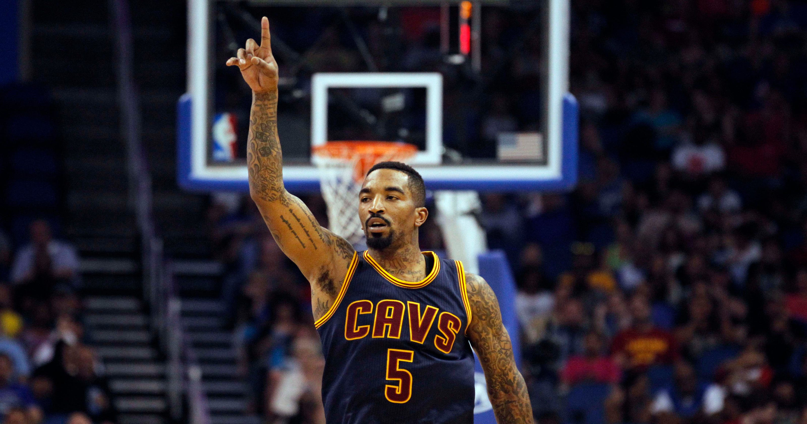 7ac42c33064d Cavs  J.R. Smith draws inspiration from baby daughter s fight