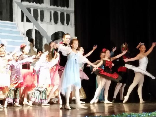 "A scene from Through a Child's Eyes Foundation's ""The Nutcracker."""