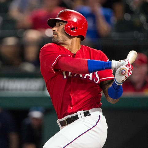 Ian Desmond had a bounce-back season in Texas, hitting .285 with 22 home runs and 86 RBI.