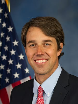 Beto O'Rourke, U.S. Representative for Texas's 16th congressional district.