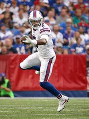 Bills quarterback Tyrod Taylor is coming off concussion