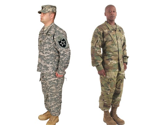 source army sets dates for new camo rollout