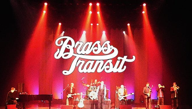 Brass Transit, a Chicago tribute band, will play the Renaissance Theatre at 8 p.m. Friday.