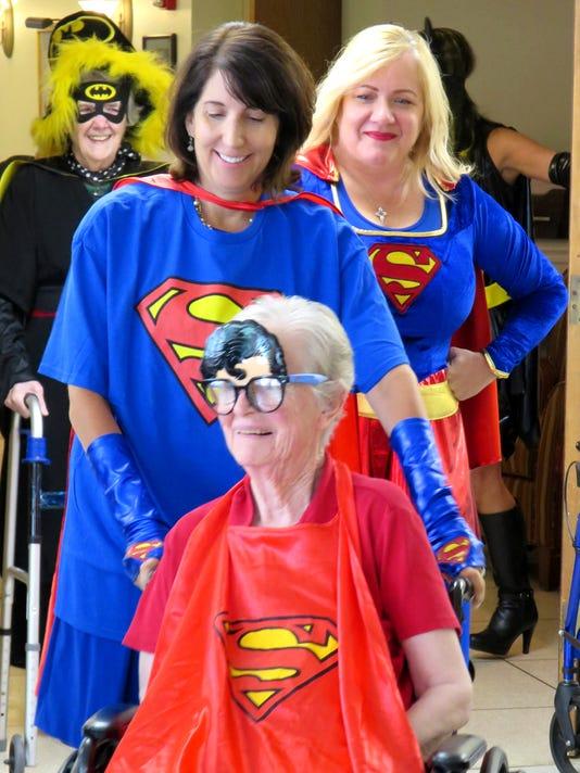 Superheros McAuley Hall