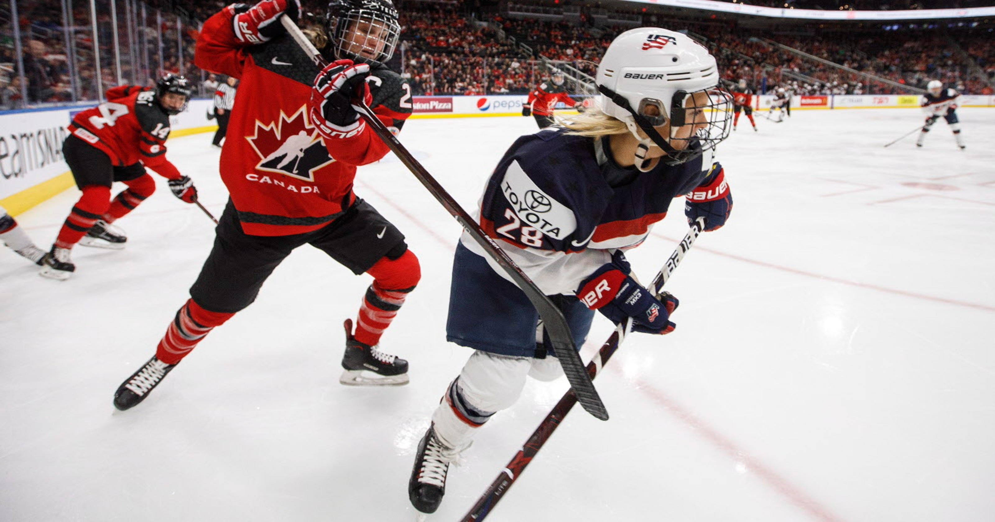 US Olympic Hockey Teams Have A Wisconsin Flavor