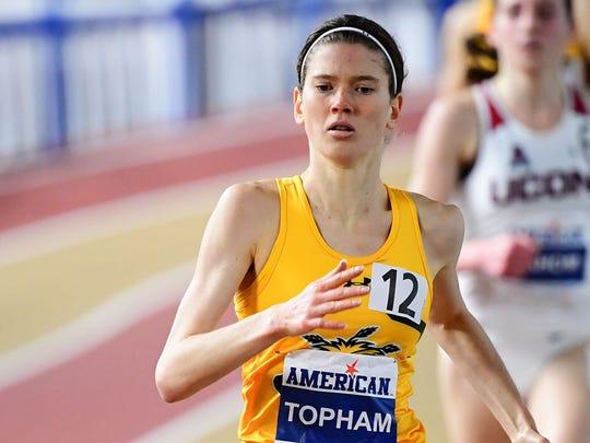 Wichita State's Rebekah Topham.