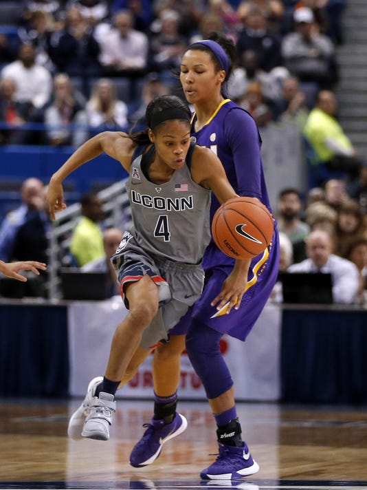 NCAA Womens Basketball: Louisiana State at Connecticut