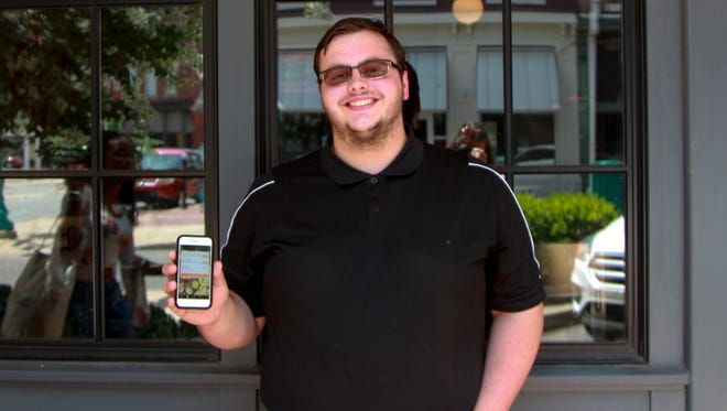 Patrick Ely runs Food Of Your Mood, a Clarksville restaurant delivery service.