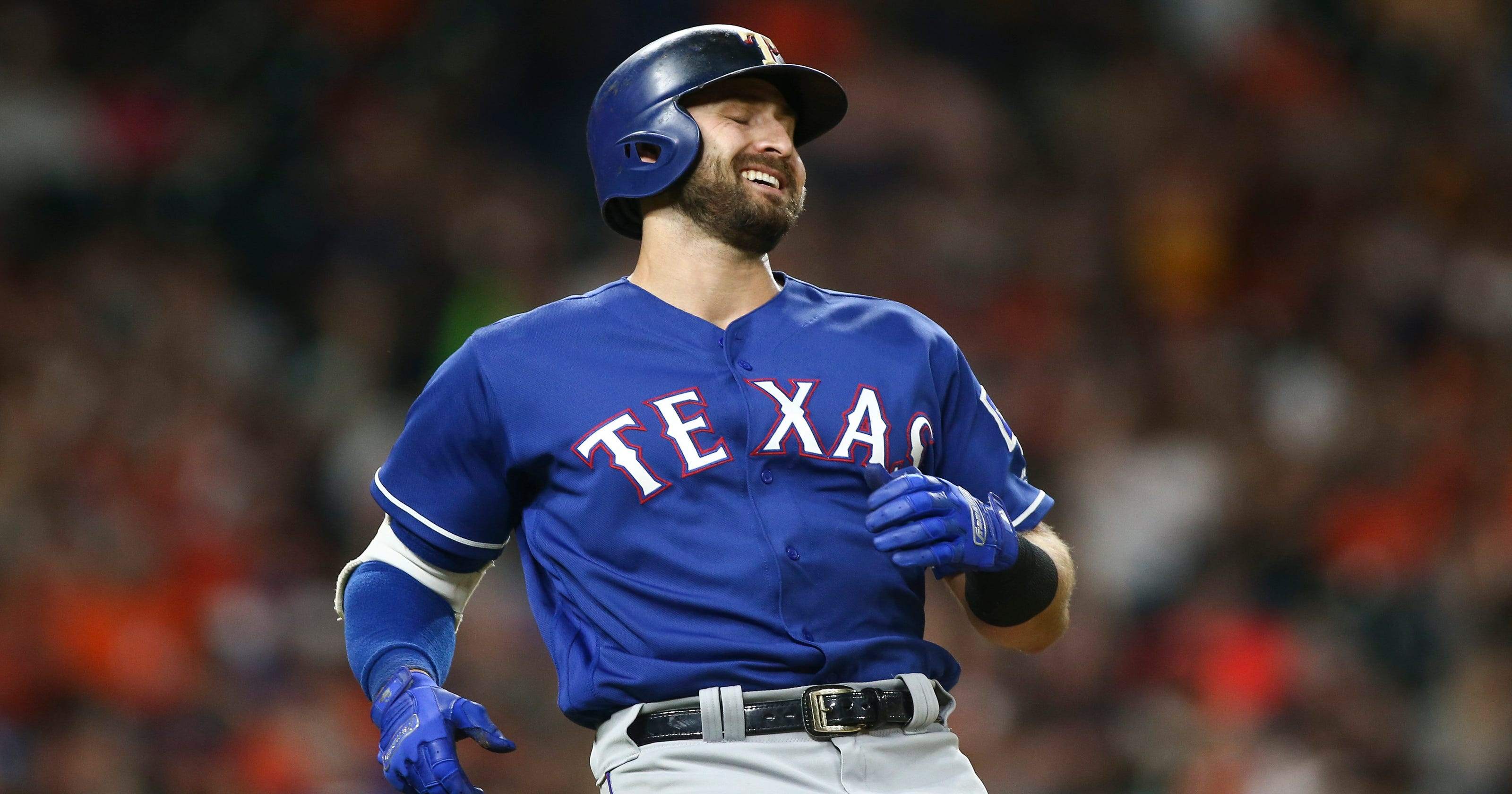 uk availability c3e94 bc304 Astros employ wild defensive shift again for Rangers' Joey Gallo