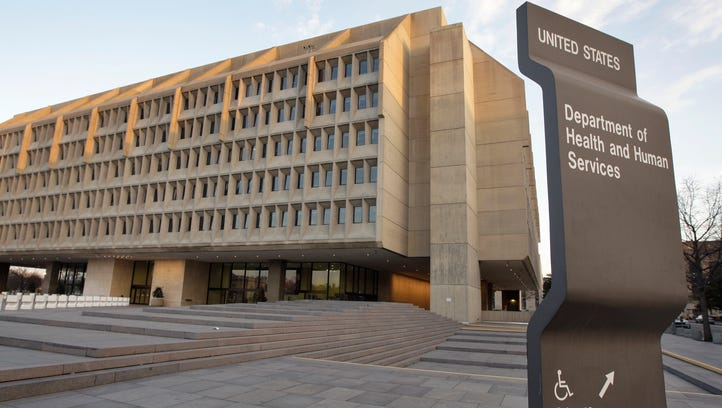 The Department of Health and Human Services building