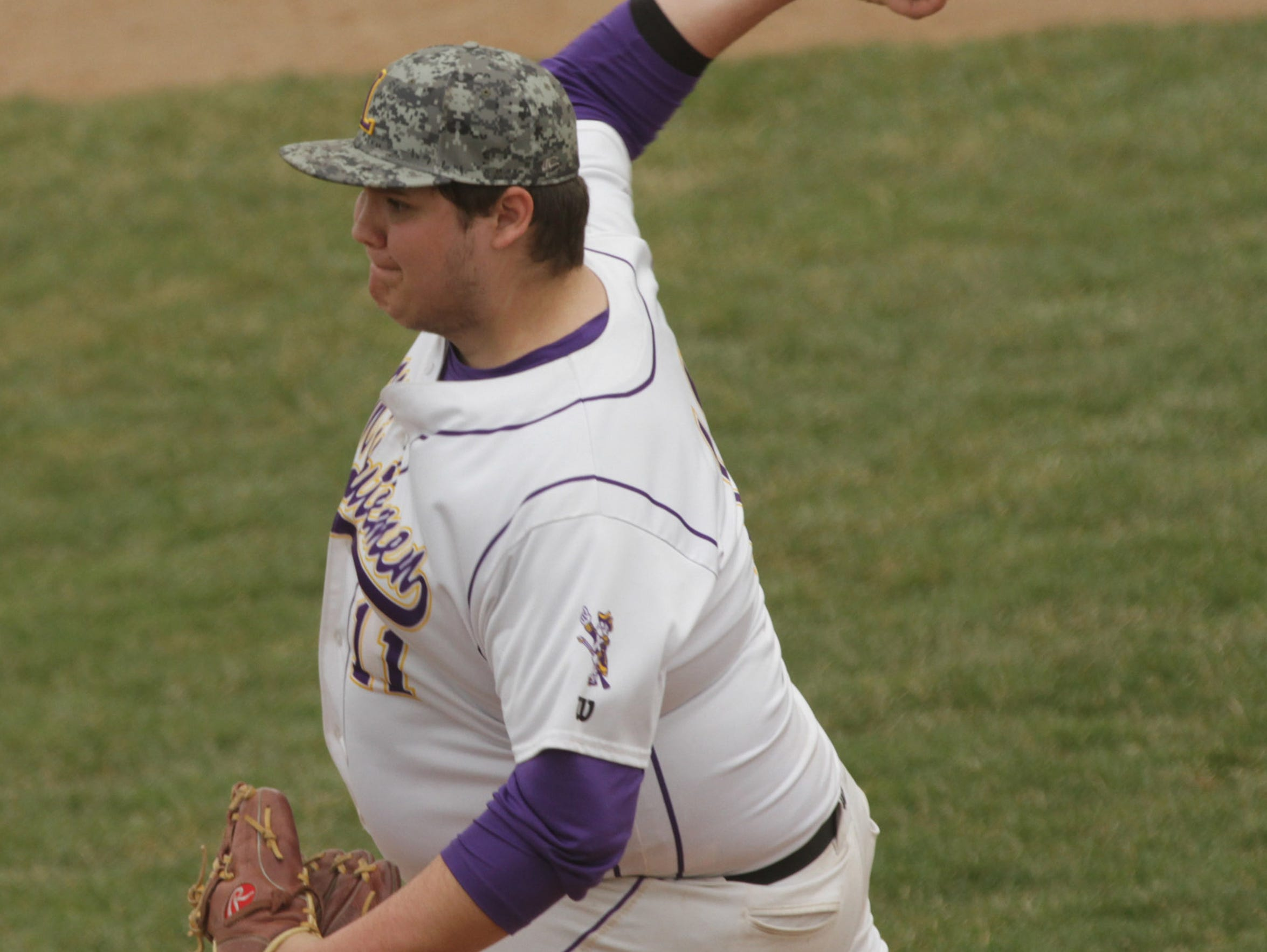 Lexington's Jack Kleinknecht pitches a home game against