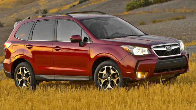 Subaru got top ratings on two models in the IIHS survey