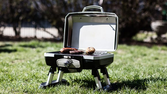Don't let limited space stop you from grilling. This