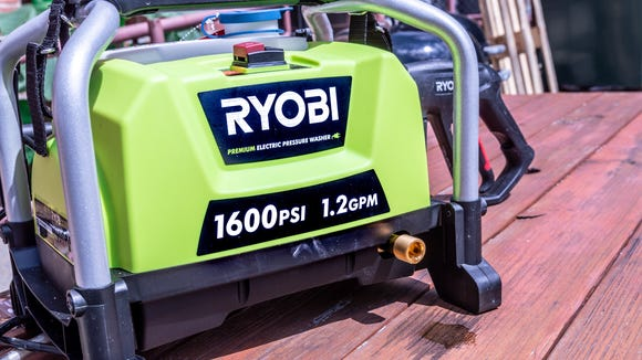Don't just this pressure washer by its small size—it's powerful as heck.