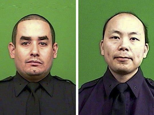 EPA USA CRIME POLICE SHOOTING CLJ CRIME POLICE USA NY