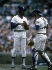 CHICAGO, IL - CIRCA 1982: Pitcher Ferguson Jenkins