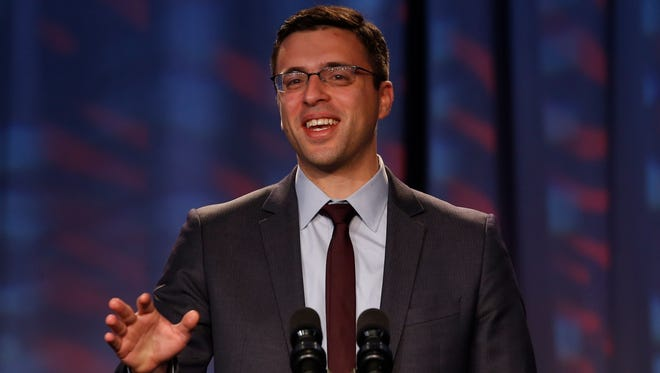 Journalist, columnist, and blogger Ezra Klein at the Families USA's 19th Annual Health Action Conference in Washington, Jan. 23, 2014.