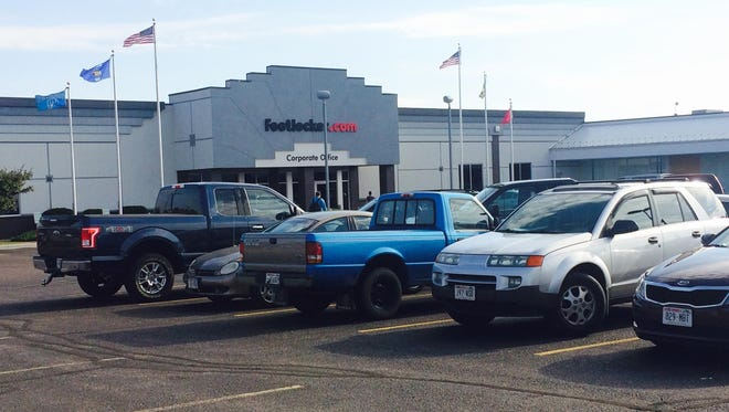 Footlocker.com, also known as Eastbay, requires a lot of parking space for its 1,000 employees on Wausau's near west side. The city commissioned a parking study last fall but has yet to make major changes.