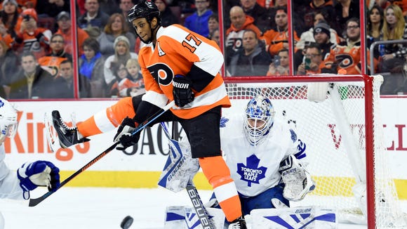 Wayne Simmonds is hoping to get the Flyers one more win before heading to L.A. for the All-Star Game.