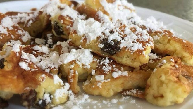 Kaisy is fluffy like a pancake, spongey like french toast and a little crispy like funnel cake, according to the owner of Kaisy's Delights in Rehoboth, kaisysdelights.com. Highly ranked on Yelp and TripAdvisor, Kaisy's claims it is the first maker of Kaisy in the country. This traditional Austrian dessert, named after Austrian emperor Kaiser Franz Joseph 1, is basically shredded pancake. For the less adventurous, Kaisy's also offers sandwiches and coffee.