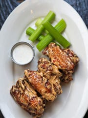 The Smok 'n Wings with Southern white sauce from Doc
