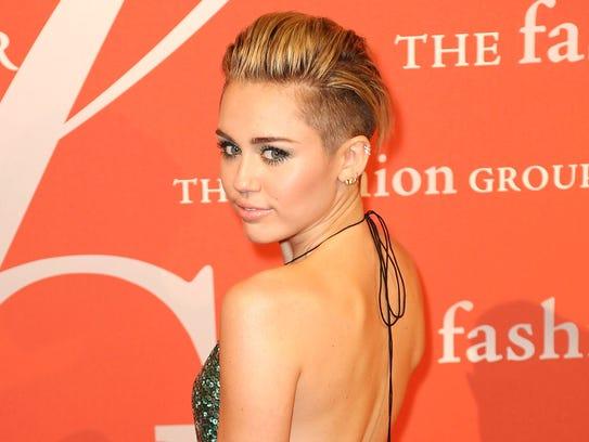 Miley Cyrus Night of Stars gala
