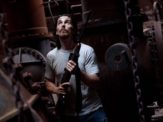 """Christian Bale in """"Out of the Furnace."""""""