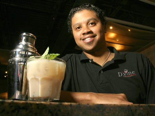 Chez Roberts is one of four people up for election as the mayor of Broad Ripple. He is shown here as a bartender in 2006.