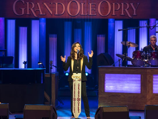 Martina McBride will perform as part of the Opry lineup April 27 at the Grand Ole Opry House.