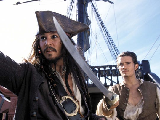 """""""Pirates of the Caribbean: The Curse of the Black Pearl."""""""