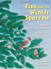 'Pine and the Winter Sparrow' by Alexis York Lumbard