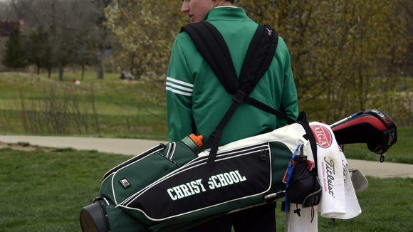 Christ School senior Chris Akers has committed to play college golf for East Carolina.