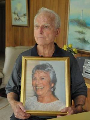 Ed Barry, 90, of Palm Bay lost his wife, Kay, to cancer.