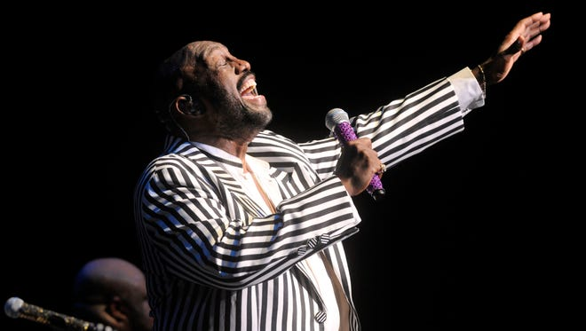 Otis Williams performs with the group in 2015 at the Abilene Civic Center.