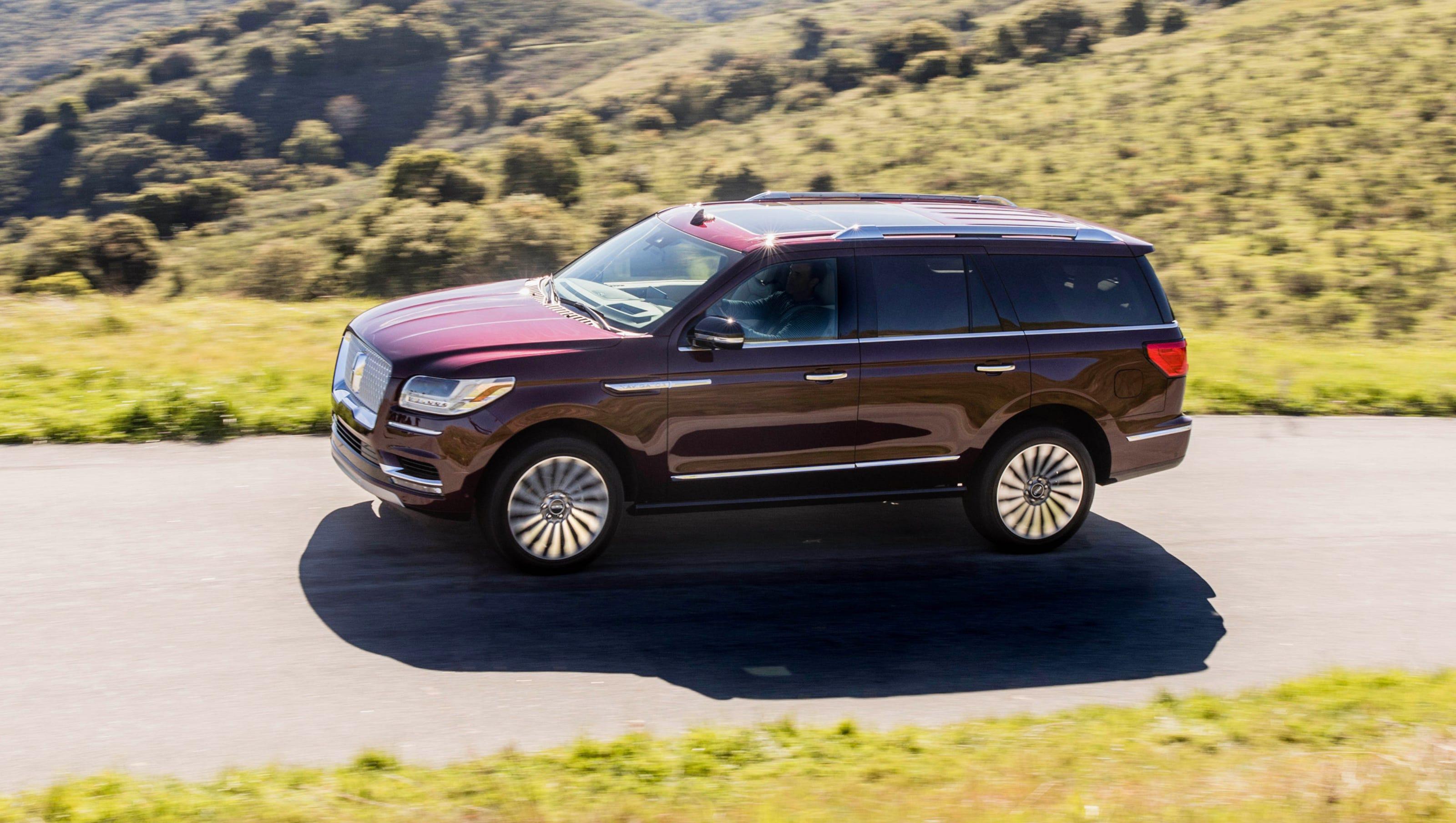 First drive: 2018 Lincoln Navigator Black Label details ...