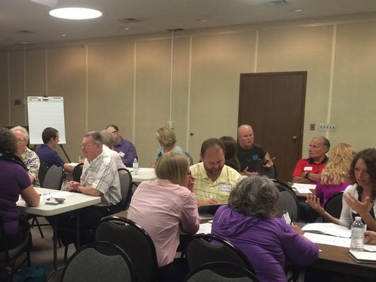 Wisconsin Rapids residents discuss interests and priorities