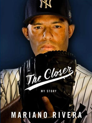 """Cover of the book """"The Closer"""" by Mariano Rivera."""