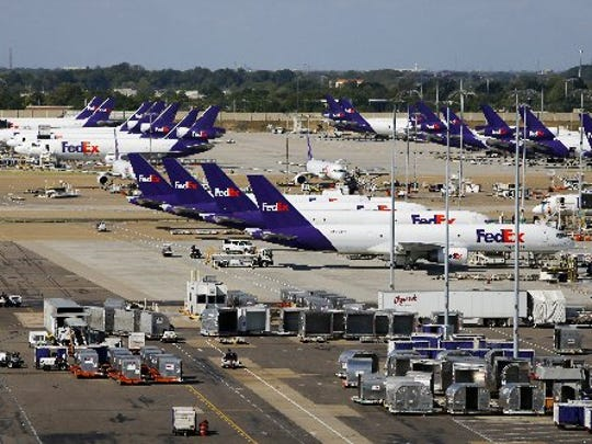 FedEx Express world hub, Memphis, Tennessee