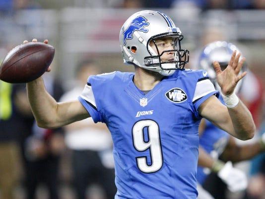 NFL: Jacksonville Jaguars at Detroit Lions