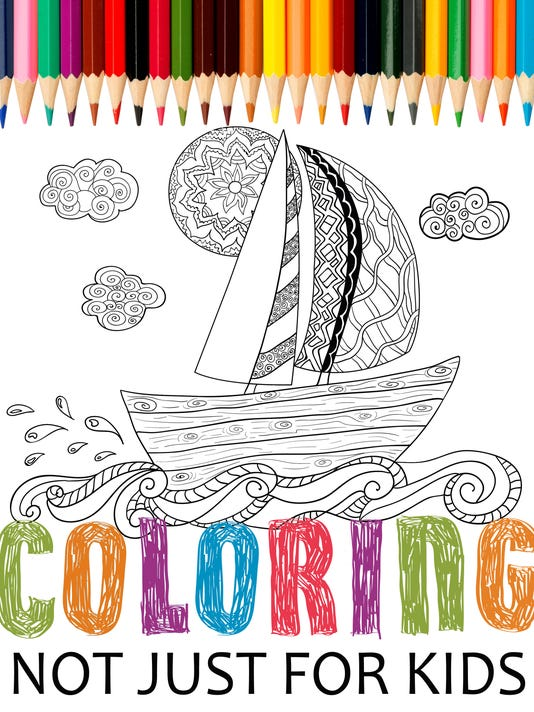 Manitowoc Adults Join Coloring Book Trend
