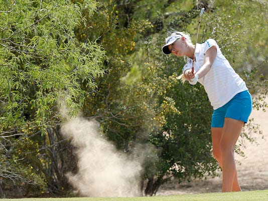 LPGA Founders Cup golf tournament  in Phoenix