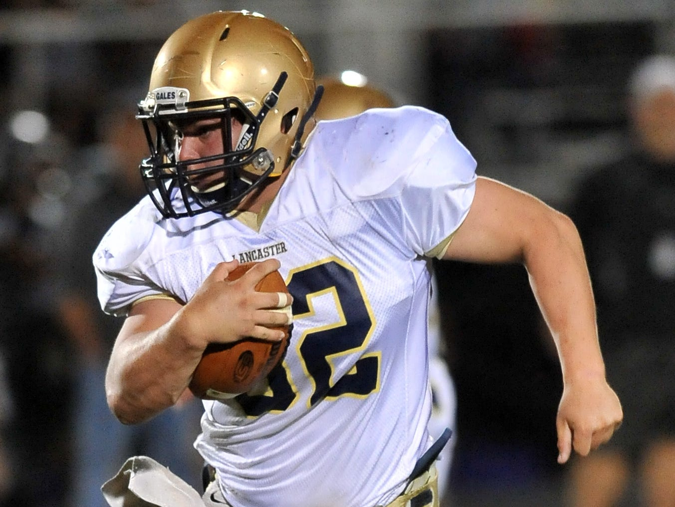 Lancaster senior fullback Ryan Fitchpatrick is the 2015 Eagle-Gazette Offensive Player of the Year.