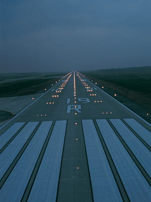 Runways are named for their approximate magnetic heading.