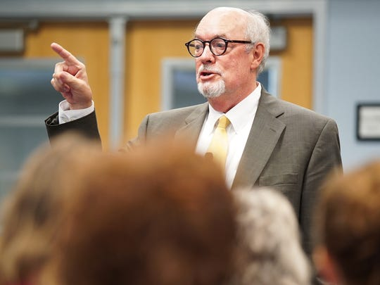 Florida Gulf Coast University President Michael Martin has been on the job nearly three full weeks. He is dealing with a list of issues, including some fine tuning to FGCU's five-year strategic plan.
