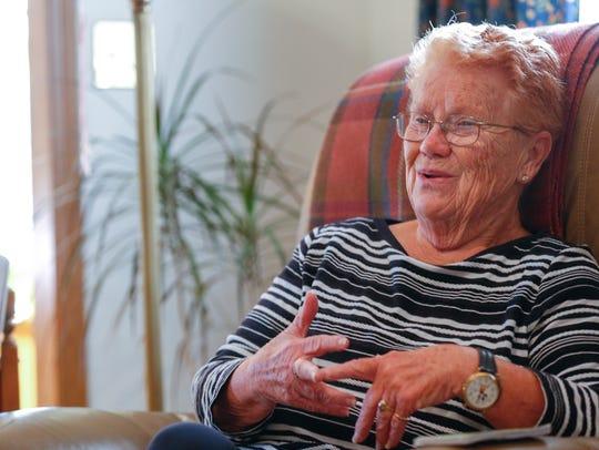 LaWanka Mallard, 74, talks about her experience riding