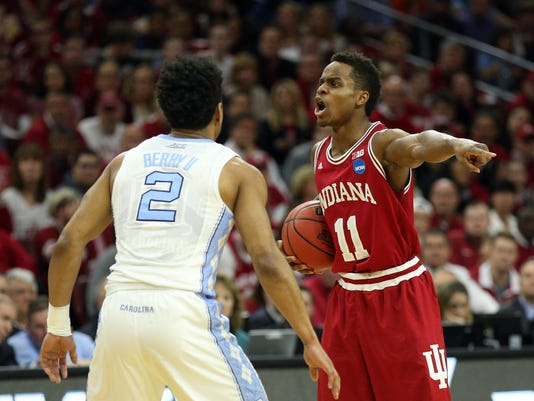 NCAA Basketball: NCAA Tournament-East Regional-North Carolina vs Indiana