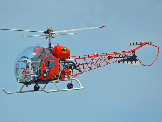 "The original ""Batcopter"" will fly at the Stuart Air"